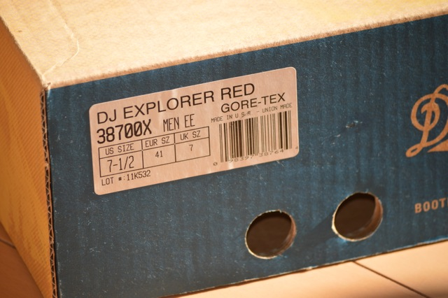 ダナー エクスプローラー12