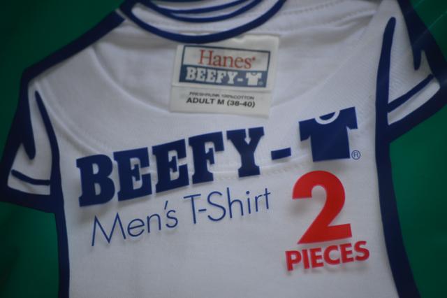 """やっぱり着やすい無地Tシャツ""""ヘインズのビーフィー"""""""