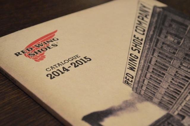 レッドウィングの2014F/Wの新作の販売がスタート!!