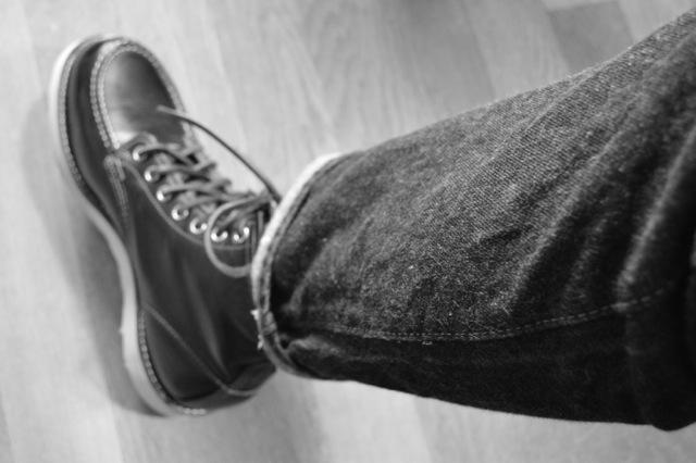 レッドウィング 靴擦れ