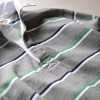 「この春はシャツを中に着たい気分」バーバリアンのラガーシャツ