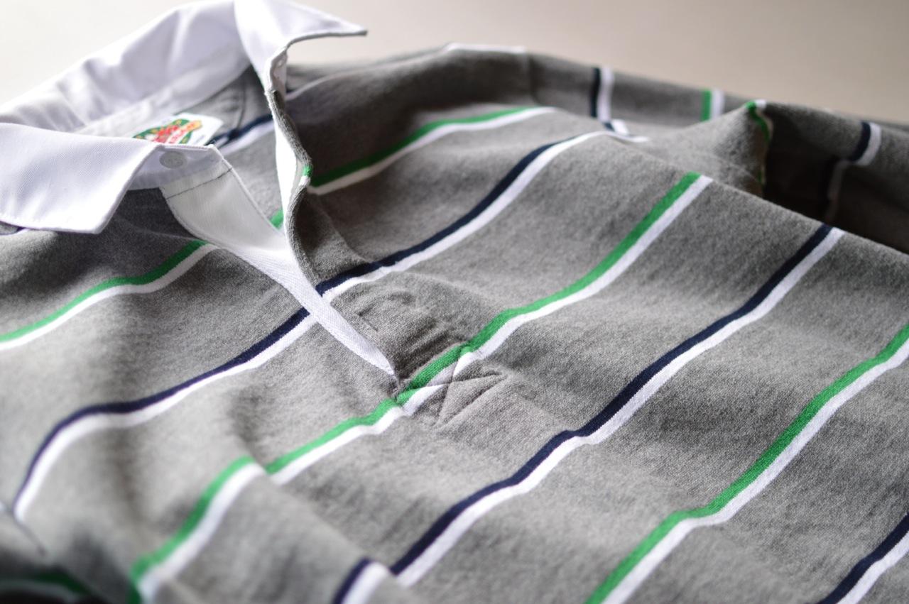 バーバリアンのラガーシャツ1