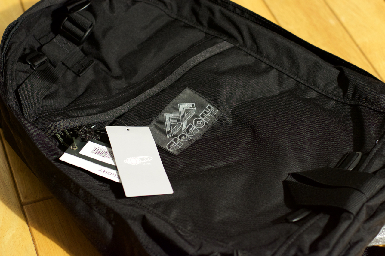 GREGORY×BEAMS PLUS / 別注 DAY PACK BLACK